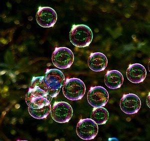 Machines à bulles et liquides